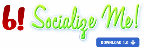 an image of the Socialize Me! logo, a Plugin for WordPress