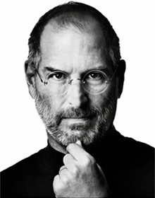 a photo of Steve Jobs, CEO of Apple Inc.