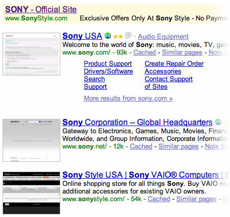 adwords-sony