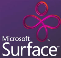 an image of the Microsoft Surface logo