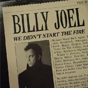 Billy Joel, We Didn't Start The Fire