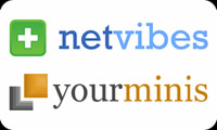 an image of the Netvibes and Youminis logos