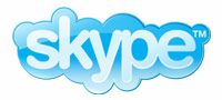 an image of the Skype logo