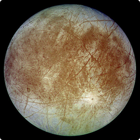 Europa, a moon of the planet Jupiter