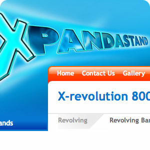 a preview of a Xpandastand header