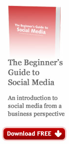 The Beginner's Guide to Social Media ebook button
